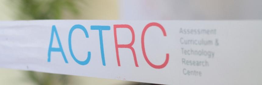 Photo of ACTRC Ribbon