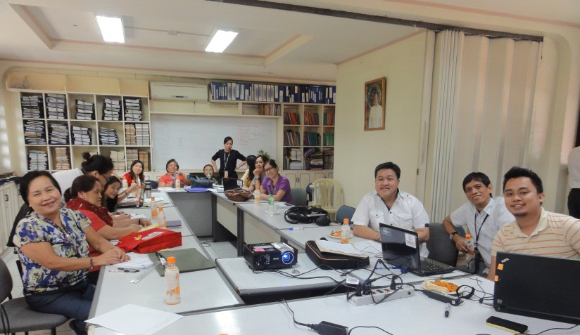 Photo of participants at a DepEd Workshop on 21st century skills in February 2015