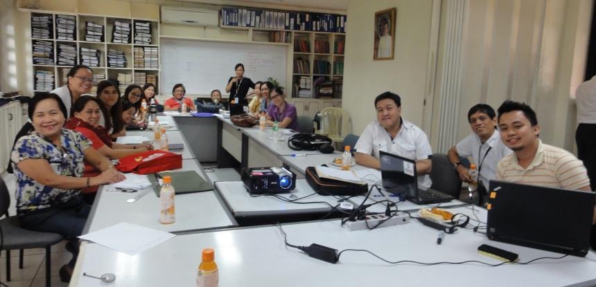 Phptp of 21st Century Skills Assessment Framework, DepEd Workshop, Feb 2015