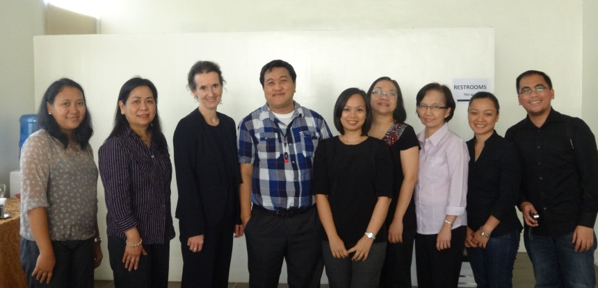 Photo of Several members of the 21st Century Skills Assessment Framework Group