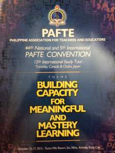 PAFTE Poster